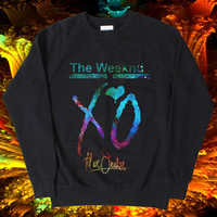 XO The Weeknd Sweatshirt , Women and Men Sweatshirt