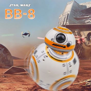 Star Wars BB 8 RC Robot Star Wars BB-8 2.4G Remote Control BB8 Figure Robot Action Robot Sound Intelligent Toys Car For Children