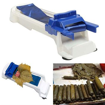 Drop Shipping Sushi Mold Vegetable Meat Rolling Tool Dolmer Magic Roller Stuffed Garpe Cabbage Leave Grape Leaf Machine Tools