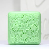 FlowerA - handmade design soap mold
