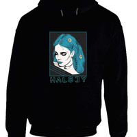 Halsey Rectangle Fan Art Hoodie