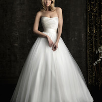 Allure Bridals 8957 Tulle Ball Gown Wedding Dress