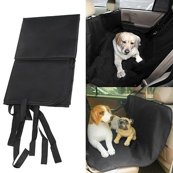 High Quality Pet Dog Cat Car Rear Back Seat Carrier Cover Pet Dog Mat Blanket Cover Mat  Cushion Protector Travel