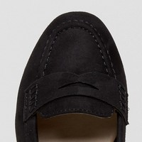 New Look Wide Fit Suedette Loafer at asos.com