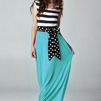 Fancy Free Maxi Dress - Mint