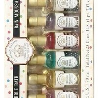Champagne Dreams Bubble Bath Gift Set (10 bottle set)
