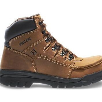 "Wolverine POTOMAC ENGLISH MOC STEEL-TOE EH 6"" WORK BOOT"