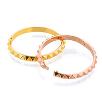 Gina Cueto   Spike Bangle Bracelets (Silver, Gold and Rose Gold)