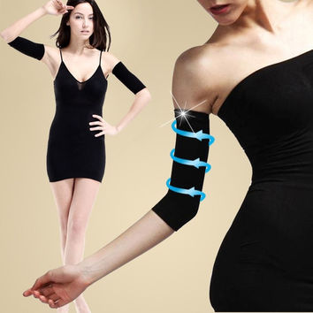 Womens Slim Weight Loss Arm Shaper Fat Buster off Cellulite Belt Wrap Band  D_L = 5987609793