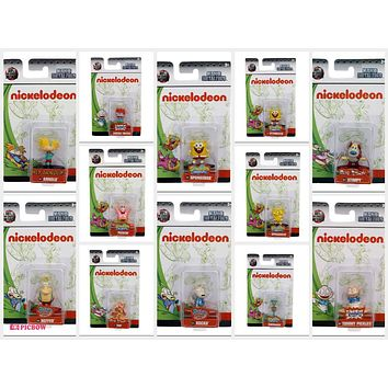 Jada Nano Figures Nickelodeon Figure set of 12