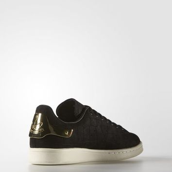 adidas Stan Smith Metal Shoes - Black | adidas US