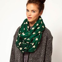 River Island Heart Snood at asos.com