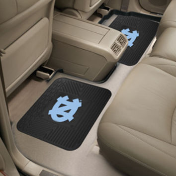 "UNC Chapel Hill  Backseat Utility Mats 2 Pack 14""x17"""