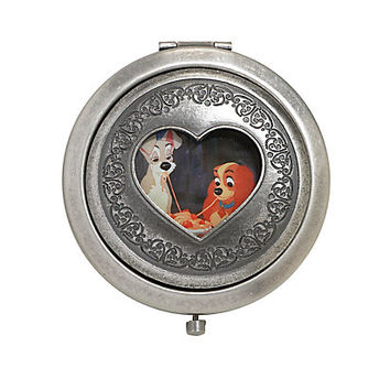 Disney Lady And The Tramp Cut-Out Hinge Mirror