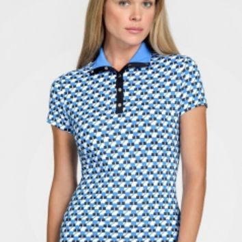 Tail Ladies Golf Outfits (Shirt & Skort) - PACIFIC VIEW (Ophilia/Brunswick)