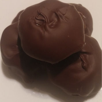 Turtle Candy, semi sweet, homemade, pecan clusters, gourmet candy, edible gift, valentines day gift, gourmet chocolate, valentines day candy