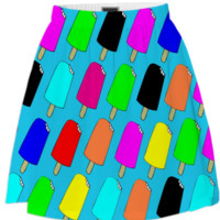 Popsicles Summer Skirt created by trilogy-anonymous | Print All Over Me