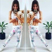 Women's Fashion Autumn Hot Sale Yoga Sports Leggings [73855631375]
