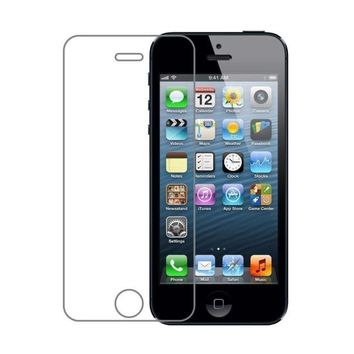 Tempered Glass Screen Protector for iPhone 5C/ 5S 5