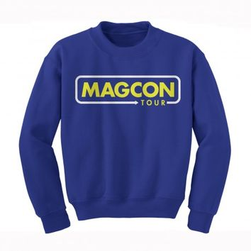 Magcon Official Store - Rounded Arrow Crewneck Sweatshirt