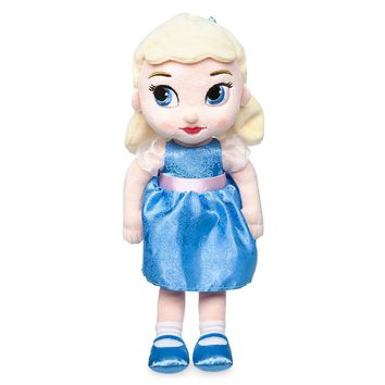 "Licensed cool Disney Store Animators 13"" Princess Cinderella Plush Toddler Toy Doll"