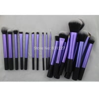 Sedona Amazing 20 Pieces soft hair dense Purple makeup brush cosmetic complete set  Professional High Quality for gift