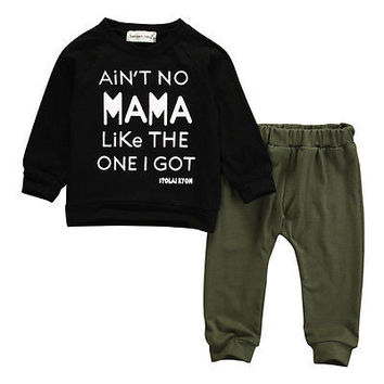 .Long Sleeve Tracksuit Set