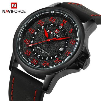 NAVIFORCE NF9076B Sport Men's Quartz Military Waterproof Watch