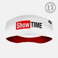 Showtime White Headband