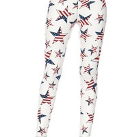 Star Spangled One Size Leggings