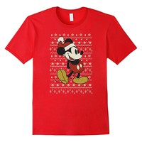 Disney Vintage Mickey Mouse Christmas T-Shirt