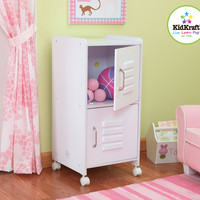 KidKraft Medium Locker - White - 14321