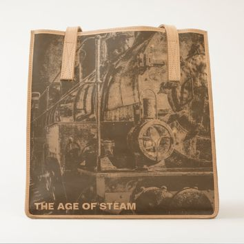 Vintage Steam Train - Old Timer Tote