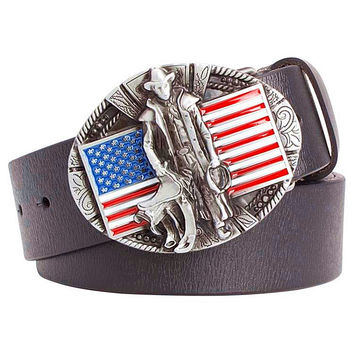 Cool men's belt Genuine Leather Western cowboy belt Wild West cowboy belt American cowboy accessories cowboys and Indians