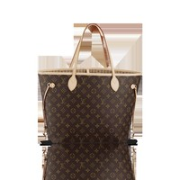 LOUISVUITTON.COM - Louis Vuitton  Neverfull MM (LG) MONOGRAM Handbags