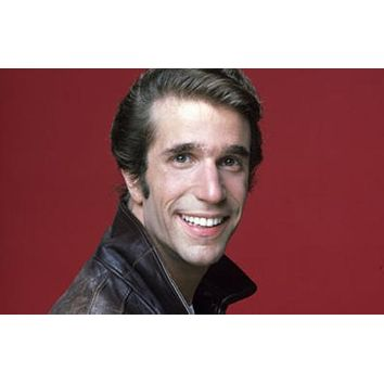 Fonzie poster Metal Sign Wall Art 8inx12in