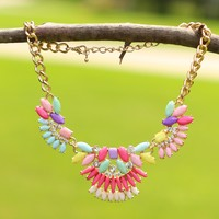 Rainbow Over The Desert Necklace