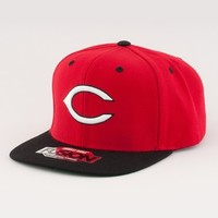 Men's American Needle 'Cincinnati Reds - Back 2 Front' Snapback Baseball Cap - Red