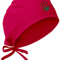 Ohio State University Red Scrub Cap