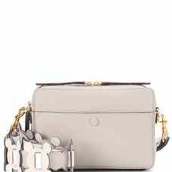 The Stack leather crossbody