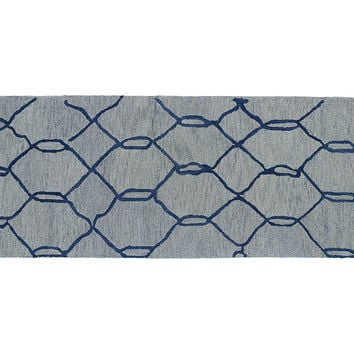 Tilda Rug, Light Blue, Area Rugs