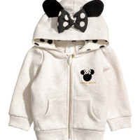 H&M Hooded Jacket with Appliqués $19.99