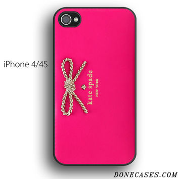 Kate Spade Pink Wallet case for iPhone 4[S]
