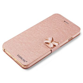Fashion Butterfly Built-in Card pattern  Phone Case For iPhone 6 6S Plus