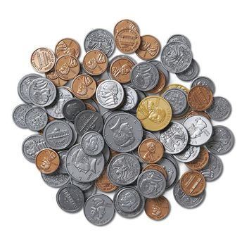 Coins Only For Coins In A Bank 96pk Plastic