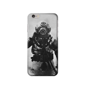 P2745 Old Diving Suit Phone Case For IPHONE 6S