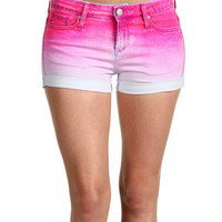 Juicy Couture Novelty Dip Dye 5 Pocket Short