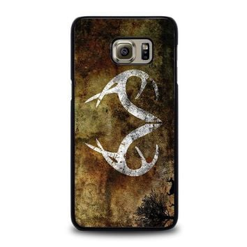 realtree deer camo samsung galaxy s6 edge plus case cover  number 1
