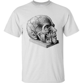 Geeky Science Anatomy Shirt White S M L