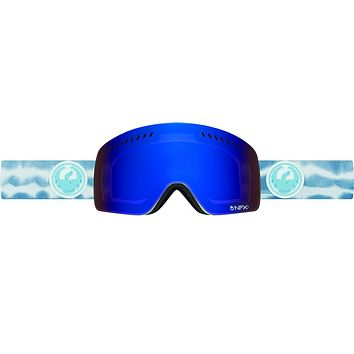 Dragon - NFXs Onus Blue / Dark Smoke Blue + Yellow Goggles